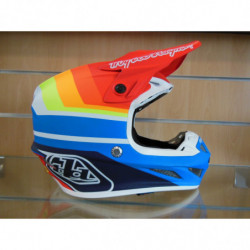 CASQUE TLD BLUE RED