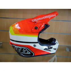 CASQUE TLD MIRAGE WHITEORANGE