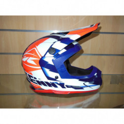 CASQUE CROSS KENNY M WHITE...