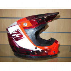 CASQUE CROSS KENNY L RED CANDY