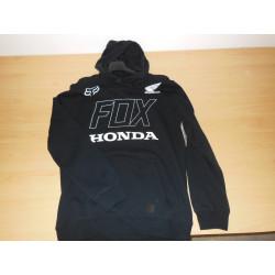 SWEAT FOX HONDA BLACK...